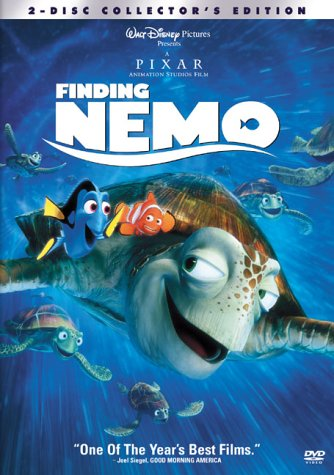 """Just keep swimming"" ""Fish are friends, not food"" the fantastic animation of the EAC & Whale sequences? NO. Nemo would've been gumbo by the time he reached the pipeline in the ocean."