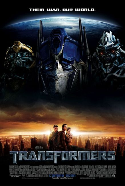 The core of transformers is this: Giant robots from space blow shit up and sometimes humans get caught in the crossfire. This movie had all of that, so Mike Bay got lucky.