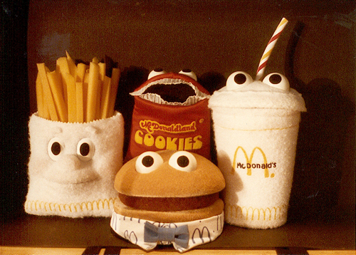 I miss the McDonaldland characters. Only Ronald & Grimace became beanie babies? FAIL