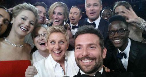oscars 2014 selfie twitter