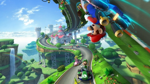 Well, this was the best Mario Kart game in a while. Plus, I can finally play as Lemmy!