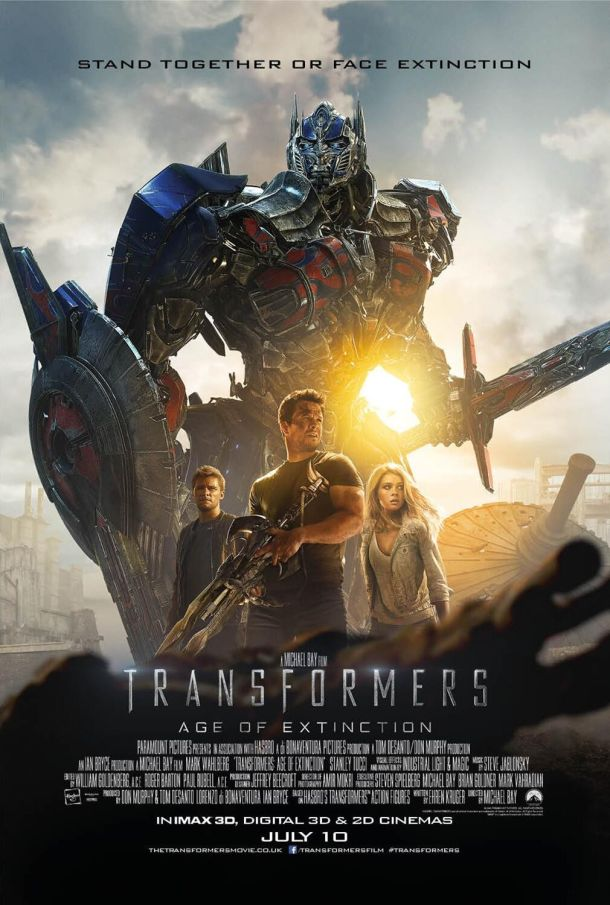 "aka the ""Optimus Prime Rides A Fucking Dinosaur Movie."""