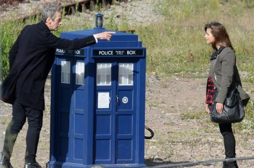 This time the TARDIS was MUCH bigger on the inside.