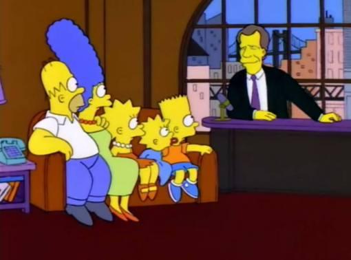 """""""Hi David, I'm Grampa!"""" """"D'oh!"""""""