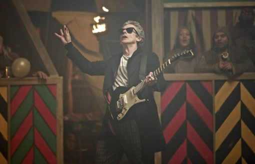 The Doctor also played guitar on top of a tank in the Middle Ages. That was cool.