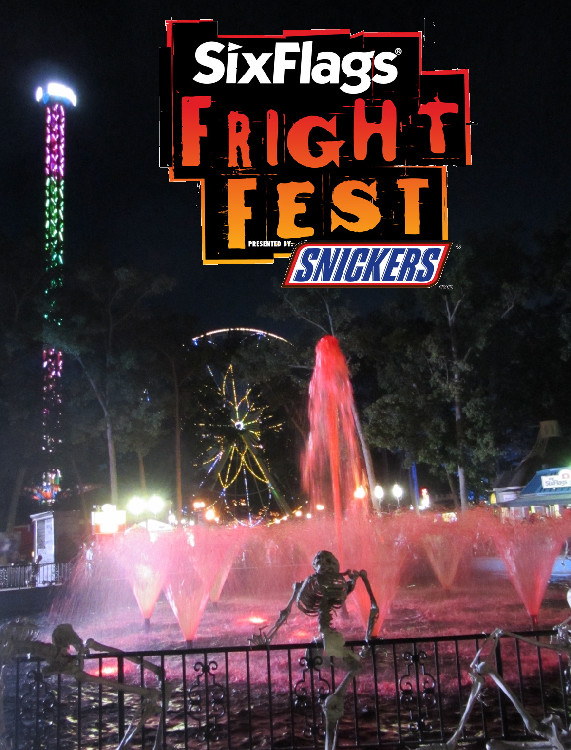 Six flags coupons nj fright fest